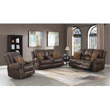 Wyoming Mocha (Sofa & Love) Power Sofa