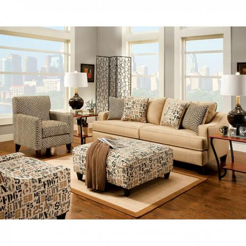 Furniture of America - Gillespie Ottoman