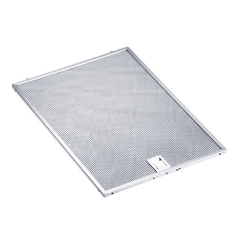 Miele - Grease filter Metal 393x278,5x9 - Grease filter Made from high-quality stainless steel.