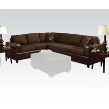 Sectional Sofa W/2 Pillows