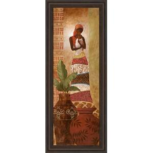 """Tribal Mother Il"" Framed Print Wall Art"