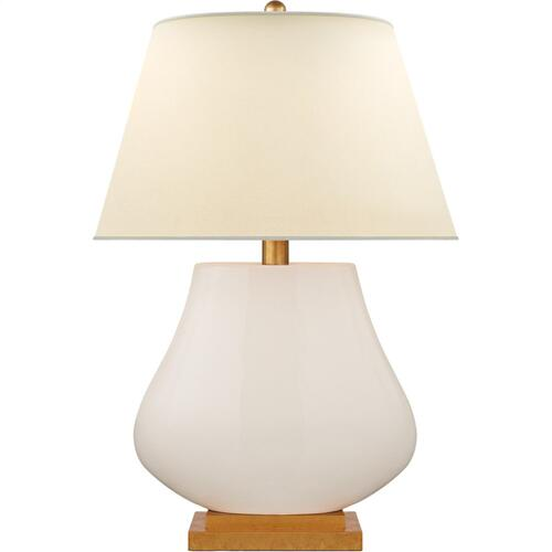 Visual Comfort CHA8699TS-PL E. F. Chapman Taiping 30 inch 100 watt Tea Stain Table Lamp Portable Light