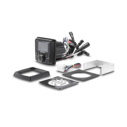 "Rockford Fosgate - Compact Digital Media Receiver w/ 2.7"" Display"