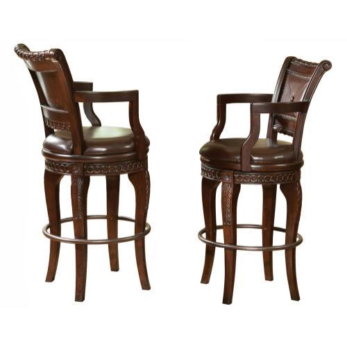 Antoinette PU Swivel Bar Chair