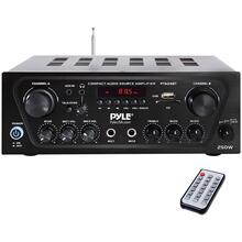 250-Watt Compact Bluetooth® Audio Stereo Receiver with FM Radio