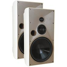 "See Details - 8"" Indoor/Outdoor Speakers (White)"