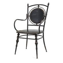 See Details - Beric Metal Arm Chair