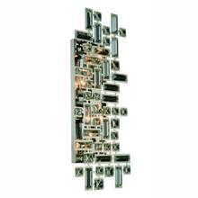 Picasso 4 light Chrome Wall Sconce Clear Royal Cut Crystal