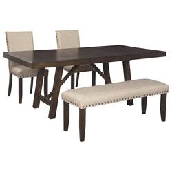 Dining Table and 2 Chairs and Bench