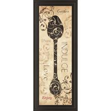 """Indulge"" By Dee Dee Framed Print Wall Art"