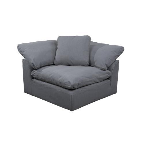 Cloud Puff Slipcovered Arm Chair Modular Corner, Sofa Sectional - 391094
