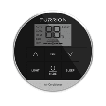 Furrion CHILL Single Zone Premium Wall Thermostat - Black