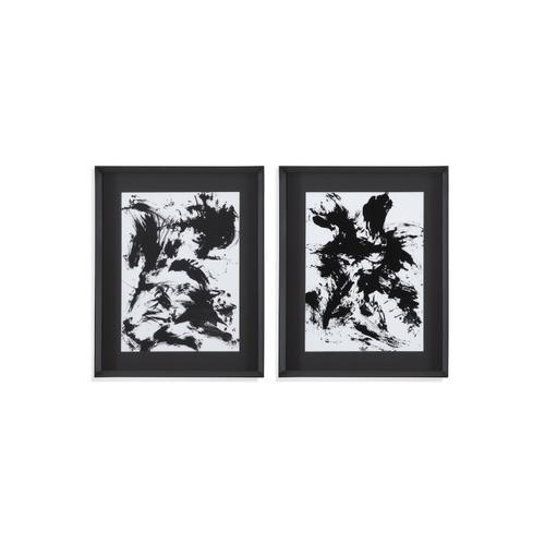 Bassett Mirror Company - 2 PC Expressive Abstract