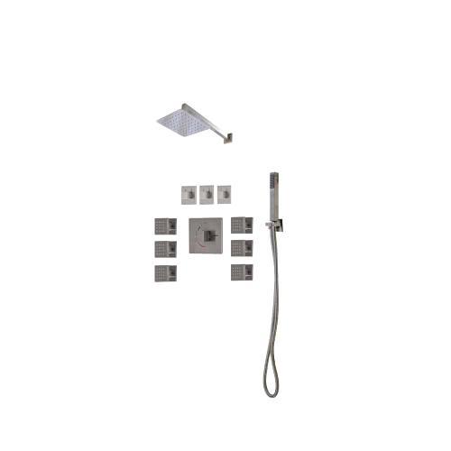 Lenova - TPS202BN / Multi-function Thermostatic & Pressure Balance Shower System