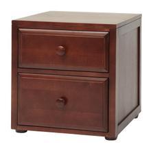 See Details - 2 Drawer Night Stand : Chestnut