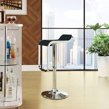 LEM Vinyl Bar Stool in Black
