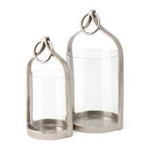 McDonough Aluminum Lanterns - Set of 2