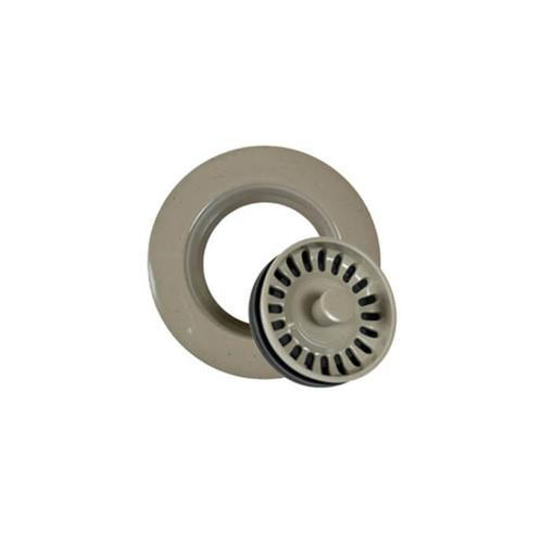 Mountain Plumbing - Decorative Plastic Garbage Disposer Flange with Stopper for Granite Sinks - Champagne