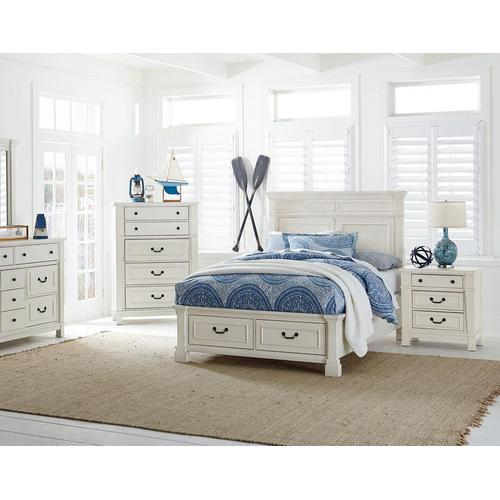 Chesapeake Bay 5-Drawer Chest, Vintage White