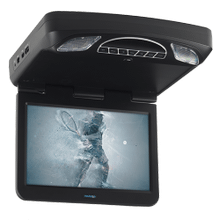 "13.3"" Digital High Def Overhead Monitor System with DVD and HD Inputs"
