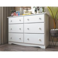 See Details - 5401 - Double Dresser White