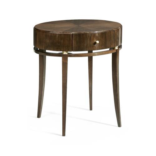 Berkley Oval Bedside Table