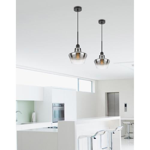 40W Brockton glass pendant light