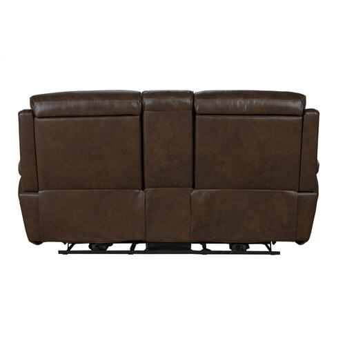 Sandover Tone-Chocolate Loveseat