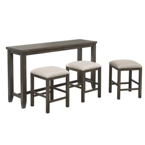 Small Pub Table Set w/Stools (4 Piece)