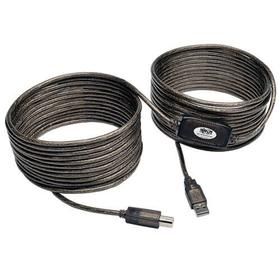USB 2.0 A/B Active Repeater Cable (M/M), 36 ft. (10.97 m)