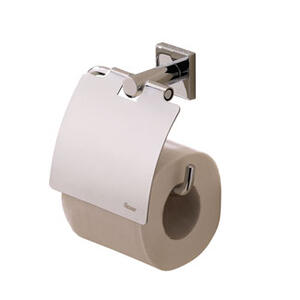 Braga Toilet Roll Holder With Lid