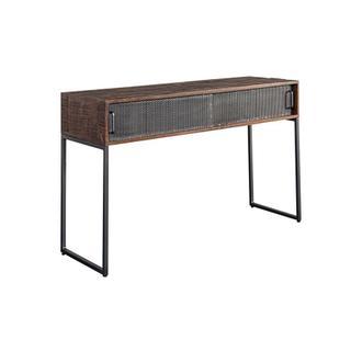 Metropolitan Sliding Door Console Table