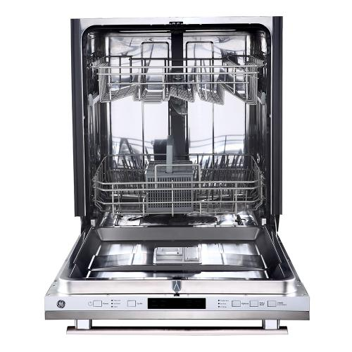 """GE 24"""" Built-In Top Control Dishwasher with Stainless Steel Tall Tub Stainless Steel - GBT632SSMSS"""