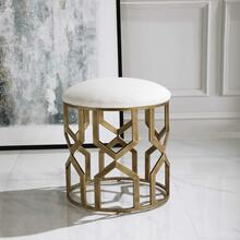 Trellis Accent Stool
