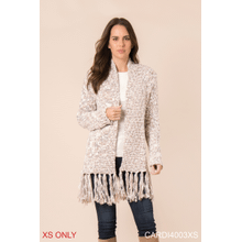 Heathered Cardigan - XS (2 pc. ppk.)