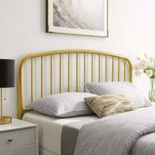 Nova Queen Metal Headboard in Gold