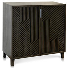 See Details - LAWSON CABINET  Gray Finish on Hardwood  2 Door