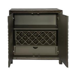 Liberty Furniture Industries - 2 Door Wine Accent Cabinet