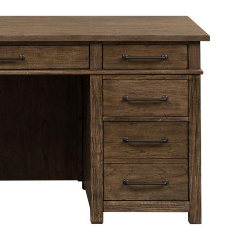 Liberty Furniture Industries - Desk/Credenza Base - Right