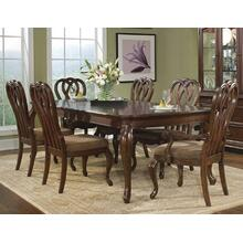 Heritage Court Leg Dining Room & Ribbon Back Chairs