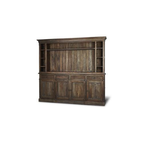 Hudson Open Media Cabinet