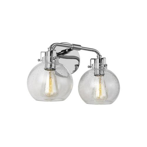 Clara 2 - Light Vanity Satin Nickel