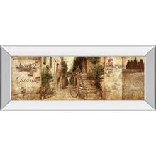 """Tuscany"" By Keith Mallet Mirror Framed Print Wall Art"