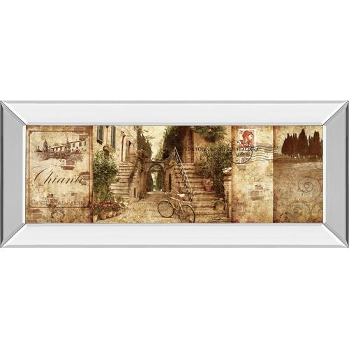 "Classy Art - ""Tuscany"" By Keith Mallet Mirror Framed Print Wall Art"