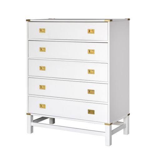 Glam Campaign 5 Drawer Dresser (Carton 1 of 2)