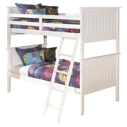 Lulu 3-piece Twin Over Twin Bunk Bed