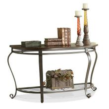 Demilune Sofa Table Tuscan Sun finish