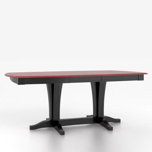 Gallery - Boat shape table with pedestal