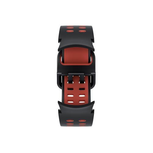 Samsung - Galaxy Watch4, Galaxy Watch4 Classic Extreme Sport Band, S/M, Black/Red