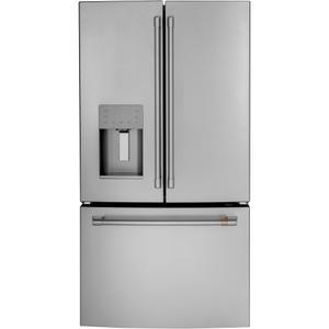 CAFE Energy Star &Reg; 25.6 Cu. Ft. French-Door Refrigerator